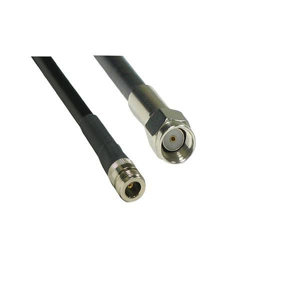 ANTENNA CABLE MALE REVERSED - SMA to N-Type FEMALE LMR200 2.0M
